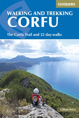 Wandelgids Korfoe - The Corfu Trail and 20 Day-Walks   Cicerone   Gillian Price