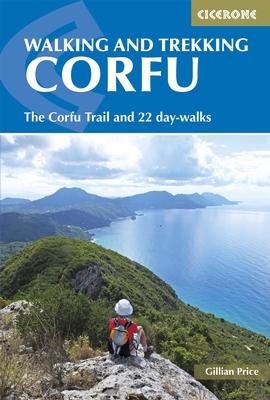 Wandelgids Korfoe - The Corfu Trail and 20 Day-Walks   Cicerone   Gillian Price