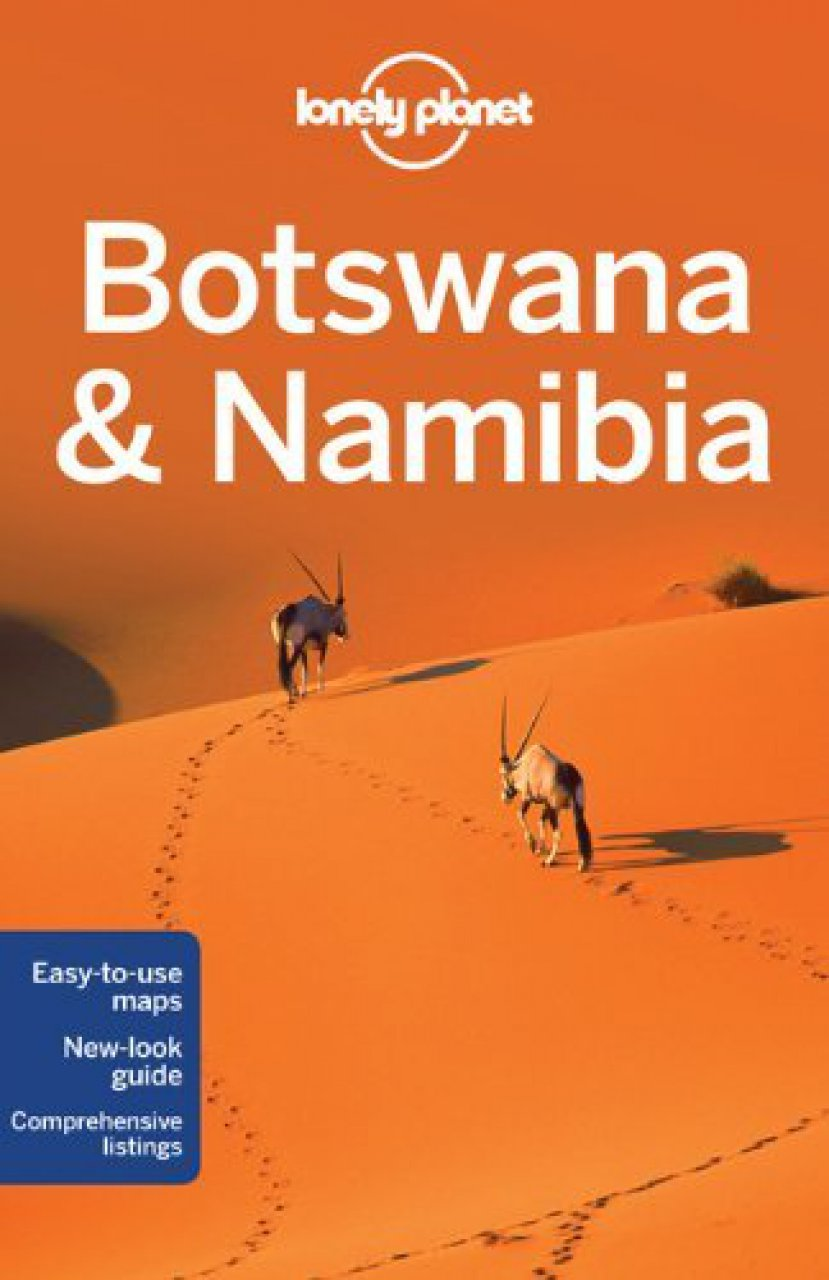Reisgids Lonely Planet Botswana & Namibia - Namibië   Lonely Planet