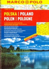 Wegenatlas Polen   Marco Polo