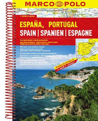 Wegenatlas Spanje en Portugal   Marco Polo