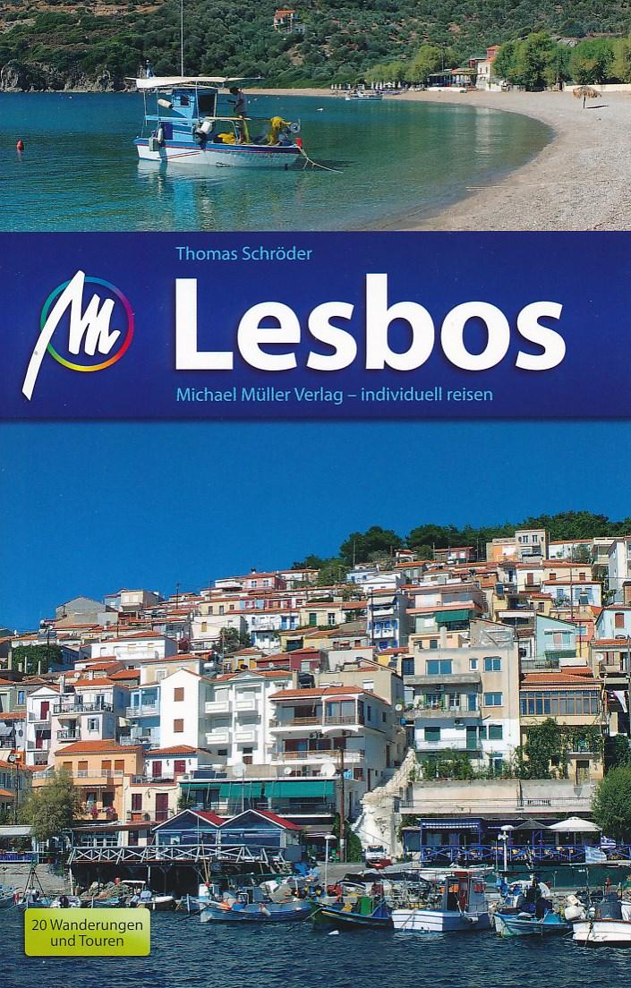 Reisgids Lesbos   Michael Muller Verlag