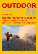 Wandelgids Trekking Klassiker Island - IJsland Laugavegur, Fimmvörduhals, Kjalvegur, Jökulsargljufur und Öskjuvegur   Conrad Stein