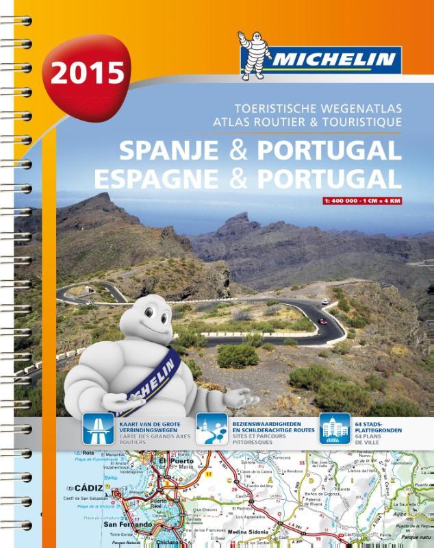 Wegenatlas Spanje & Portugal 2015   Michelin