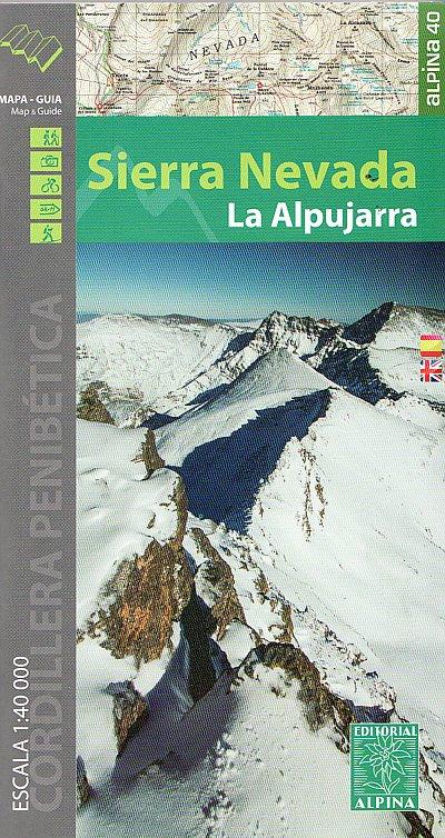 Wandelkaart Sierra Nevada & Alpujarras   Editorial Alpina