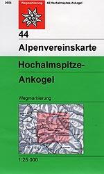 Alpenvereinskarte 44 Ankogel - Hochalmspitze - wandelkaart Oostenrijk