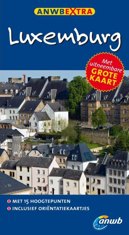 Reisgids Luxemburg   ANWB extra