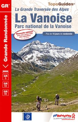 Wandelgids ref 530 - GR5 Parc national de la Vanoise - Franse Alpen   FFRP