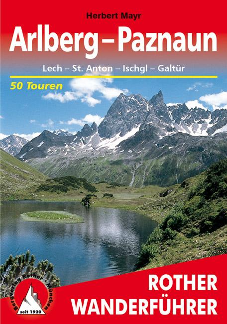 Wandelgids Arlberg – Paznaun   Rother