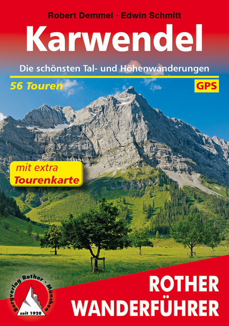 Wandelgids Karwendel   Rother