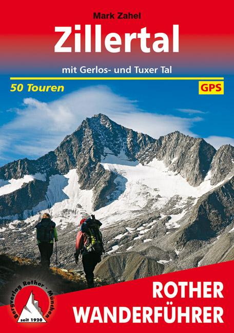 Wandelgids Zillertal   Rother