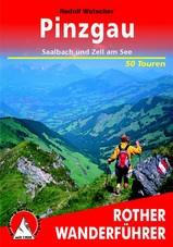 Wandelgids Pinzgau, Saalbach und Zell am See   Rother