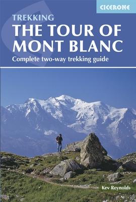 Wandelgids Tour of Mont Blanc   Cicerone