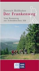 Wandelgids Der Frankenweg   Hans Carl