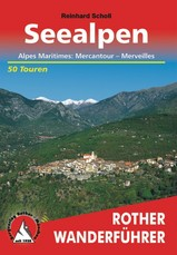Wandelgids Französische Seealpen, Alpes-Maritimes: Mercantour – Merveilles   Rother