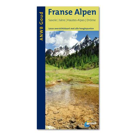 Reisgids Franse Alpen   ANWB goud