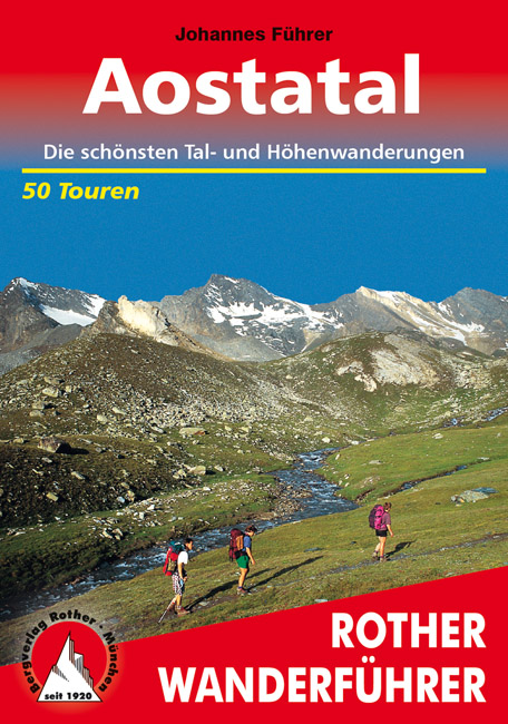 Wandelgids Aostatal - Gran Paradiso   Rother