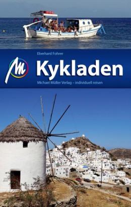Reisgids Kykladen - Cycladen   Michael  Muller Verlag