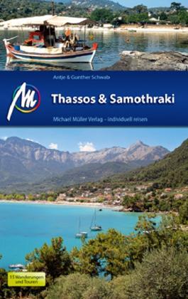 Reisgids Thassos & Samothraki   Michael Muller Verlag