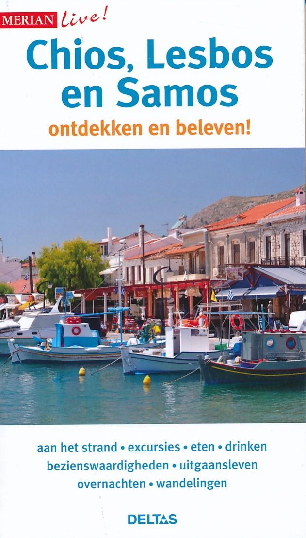 Reisgids Chios, Lesbos en Samos   Merian live