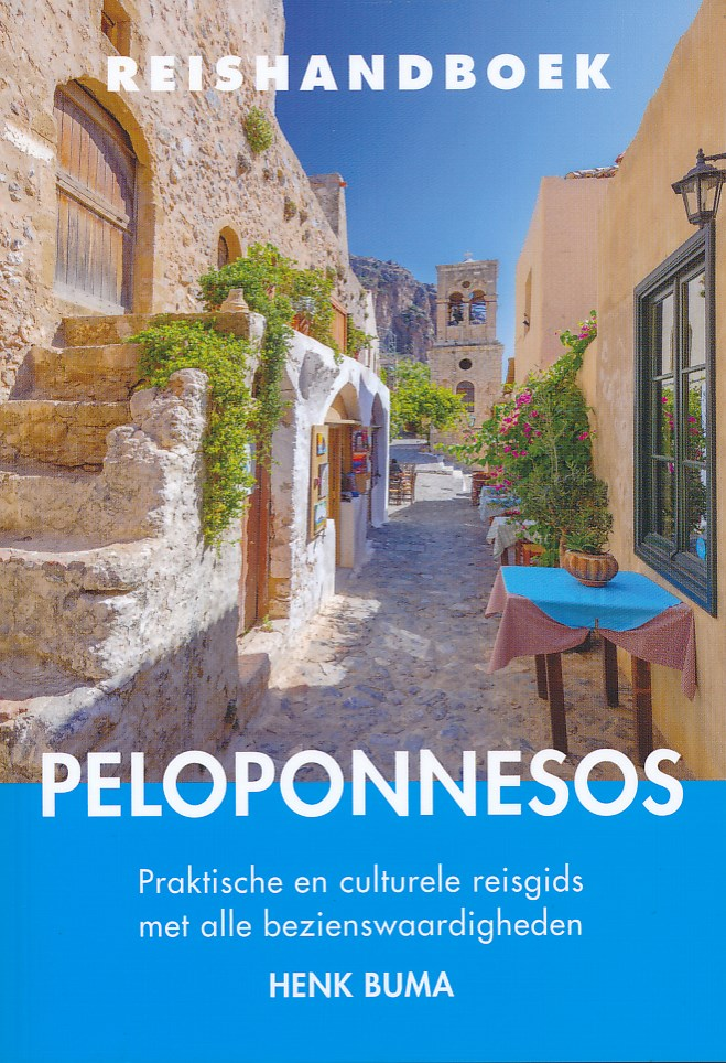 Reisgids Reishandboek Peloponnesos   Elmar