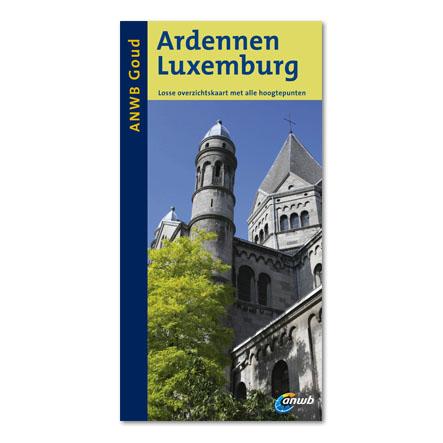 Reisgids Ardennen - Luxemburg   ANWB gouden serie