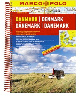 Wegenatlas Danmark - Denemarken   Marco Polo
