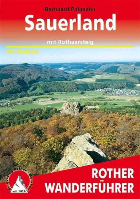 Wandelgids Sauerland mit Rothaarsteig   Rother