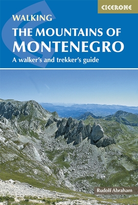 Wandelgids The Mountains of Montenegro   Cicerone