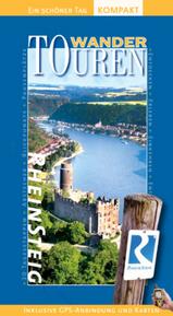 Rheinsteig Wandelgids + Wandelkaart