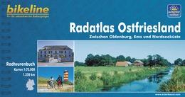 Fietsgids Ost Friesland Radatlas   Bikeline