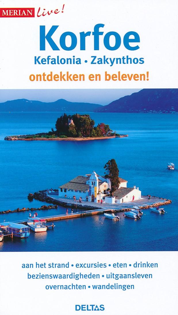 Reisgids Merian live Korfoe, Kefalonia en Zakynthos   Deltas