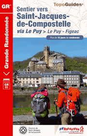 Wandelgids ref 651 - GR 65 Le Chemin du Puy: Le Puy - Figeac (Santiago de Compostela - Sint Jacobsroute)  FFRP Grande Randonnee