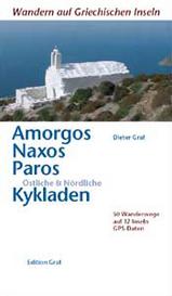 Wandelgids (ENGELS) Amorgos, Naxos, Paros & Cycladen   Graf Editions