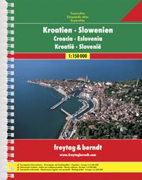 Wegenatlas  Kroatië - Slovenië   Freytag & Berndt