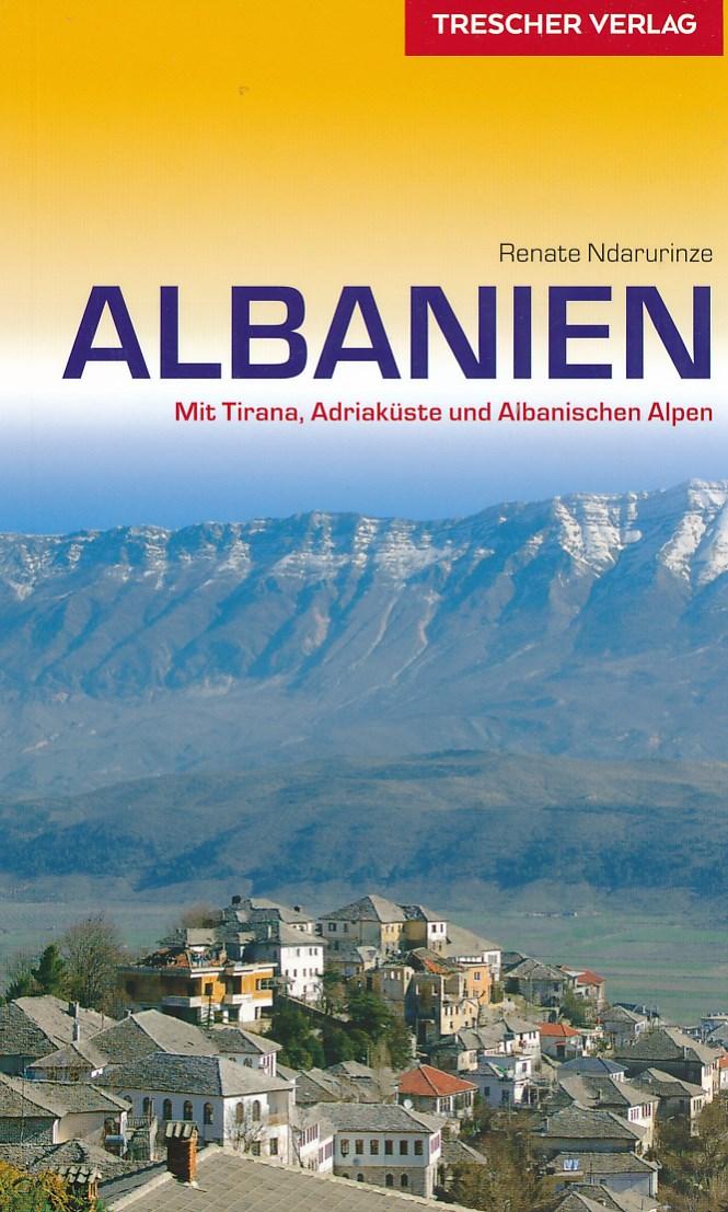 Reisgids Albanien (Albanië)  Trescher Verlag