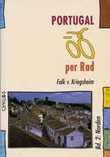 Fietsgids Cyclos Portugal per Rad Bd. 2 (Noord)   Kettler Verlag