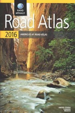 Wegenatlas Rand McNally Road Atlas 2016 - USA - Verenigde Staten   Rand McNally