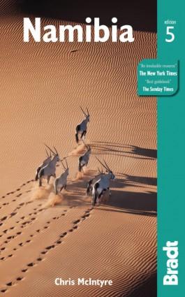 Reisgids Bradt guide Namibia - Namibië   Bradt Guide