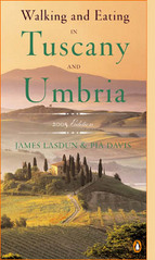 Reisgids / Wandelgids Walking and Eating in Tuscany and Umbria / Toscane en Umbrie