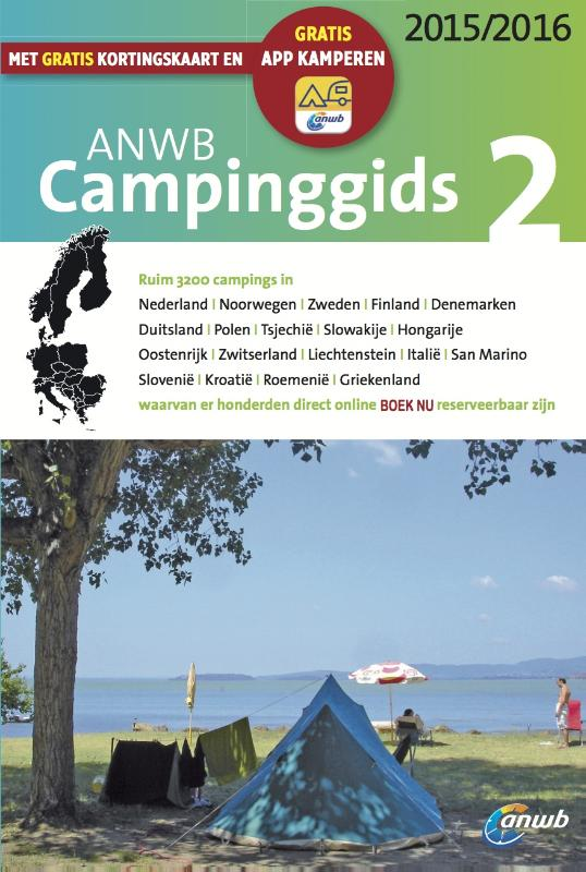 Campinggids ANWB Europa deel 2 2015/2016   ANWB