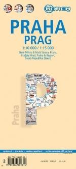 Stadsplattegrond Praag   Borch Maps