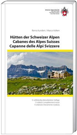 Bergsportgids H�tten der Schweizer Alpen  - berghutten in Zwitserland   S.A.C.