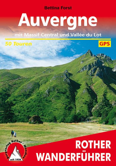 Wandelgids Auvergne en Massif Central - Vallée du Lot   Rother