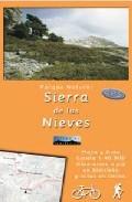 Wandelkaart - fietskaart Sierra de las Nieves   Editorial Penibetica
