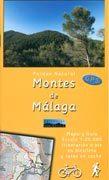 Editorial Penibetica wandelkaart - fietskaart Montes de Malaga