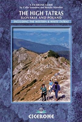 Wandelgids - Trekking gids The High Tatras - Hoge Tatra   Cicerone
