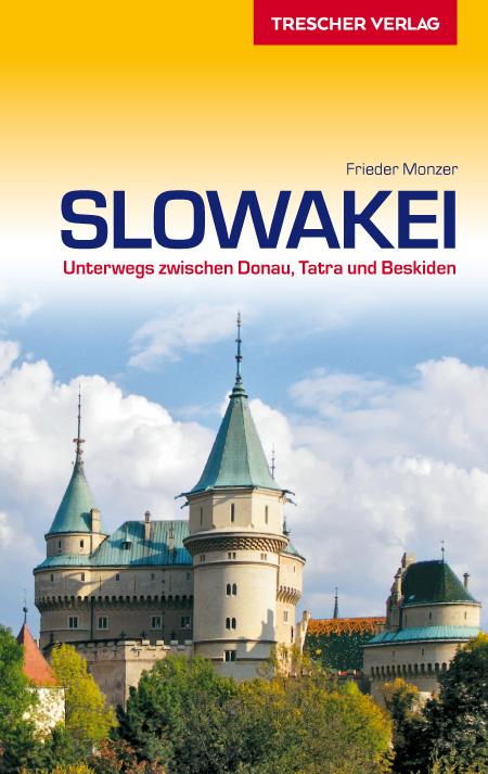 Reisgids Slowakei - Slowakije   Trescher Verlag