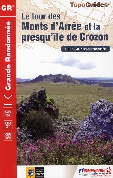 Wandelgids ref 380 Bretagne GR 34-38 Les Monts d Arree et la presque ile de Crozon   FFRP