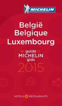 Hotel en Restaurantgids België - Luxemburg  2015   Michelin rode gids